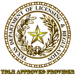 Texas Department of Licensing and Regulation Approved Provider